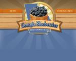 Wade Nursery Georgia Blueberries Logo